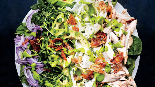 Green Goddess Cobb Salad Recipe