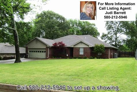 402 Oakbrook DR, Idabel, Oklahoma, For Sale by Integrity Real Estate Services