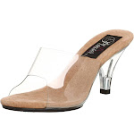Women's Fabulicious Belle-301 Clear