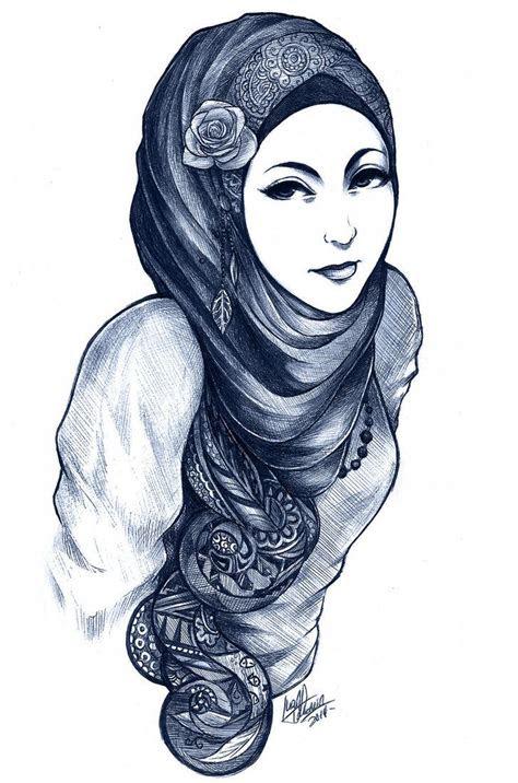 anime hijabis cartoon hijabis images