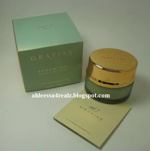 Gratiae Renewing Moisturizing Cream