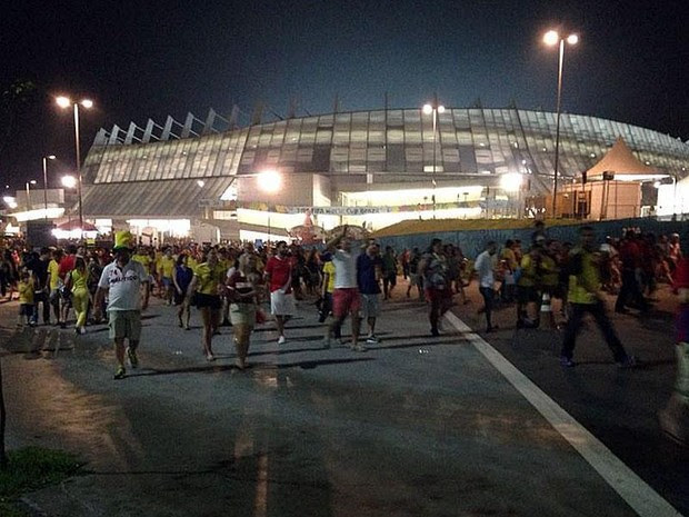 Arena Pernambuco (Foto: Débora Soares / G1)