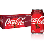 Coca-Cola Soda, Cinnamon, 12 fl oz, 12 Count