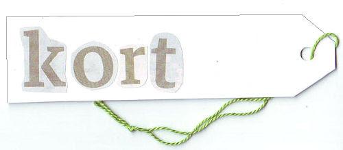#18 :: card & short :: kort