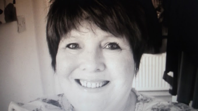 Clairvoyant Christine Hamlett who captured the picture of the ghost