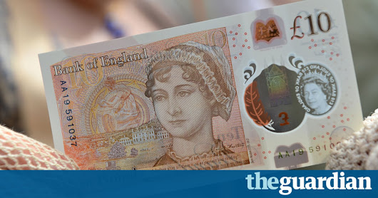 Plastic £10 note to enter circulation on Thursday | Money | The Guardian