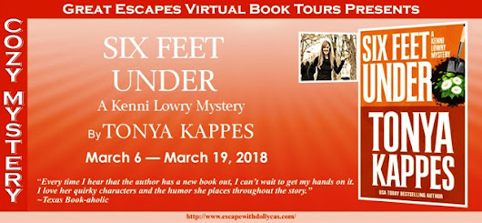 Six feet Under by Tonya Kappes-Release Day