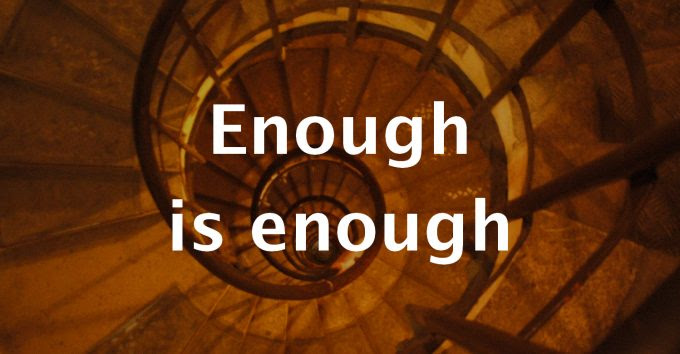 Image result for enough is enough