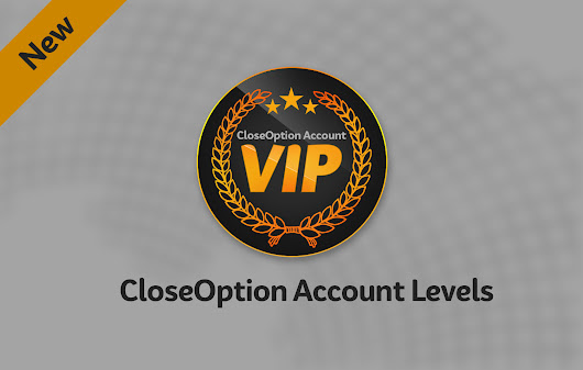 CloseOption Account Levels • CloseOption Official Blog