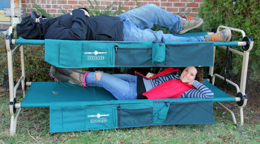 Get Out There With Disc-O-Bed! - Thrifty Nifty Mommy
