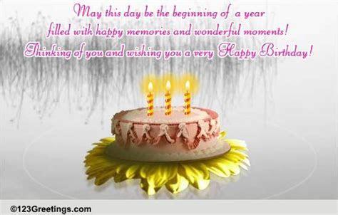 A Miss U Birthday Message  Free Miss You eCards