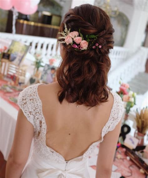 20  Simple Wedding Haircut Ideas, Designs   Hairstyles