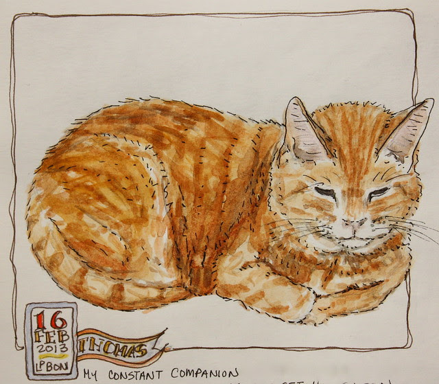 Thomas - WC Sketch