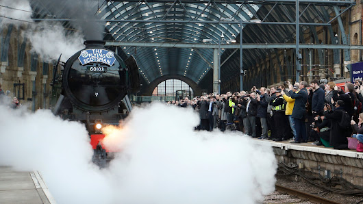 Take a Ride With the Flying Scotsman