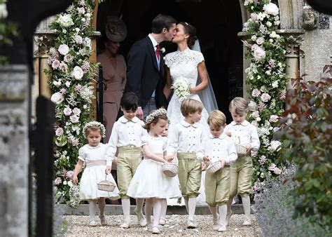 pippa middletons wedding party popsugar