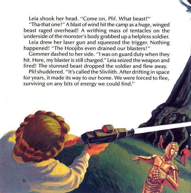 Star Wars - Planet Of The Hoojibs (1983) Illustrated By Greg Winters 4