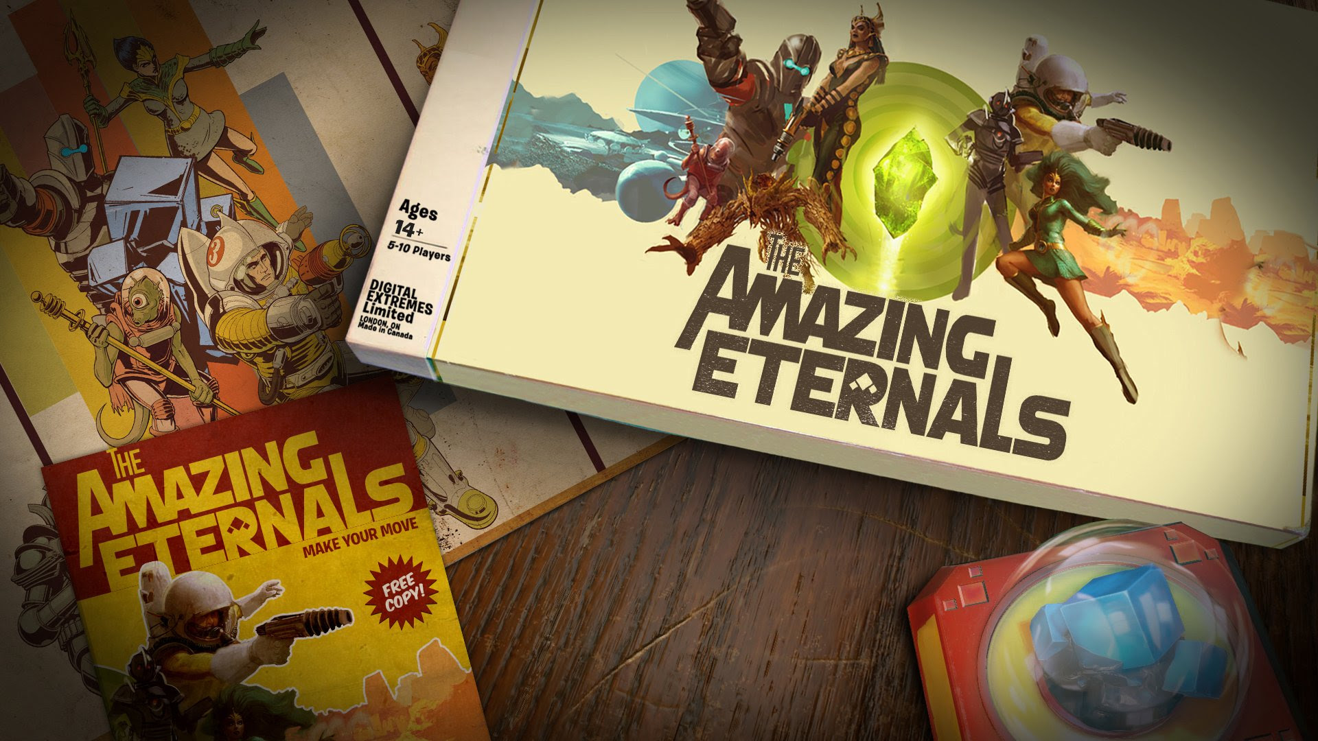 Digital Extremes' hero shooter The Amazing Eternals looks promising screenshot