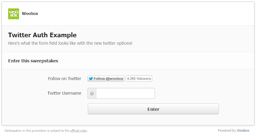 New: Require a Tweet or Follow without using Twitter Auth Dialog