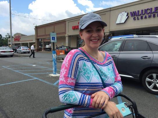 Rachel Singer, 26, of Monsey says she is against any
