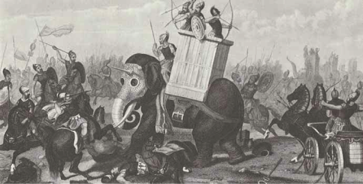 When a war pig defeated a war elephant – Amazing history