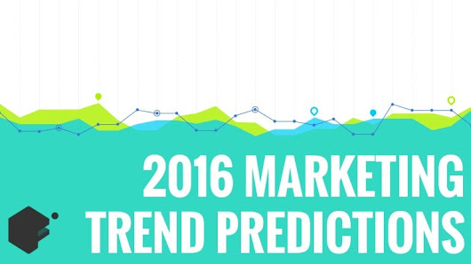 2016 marketing trends