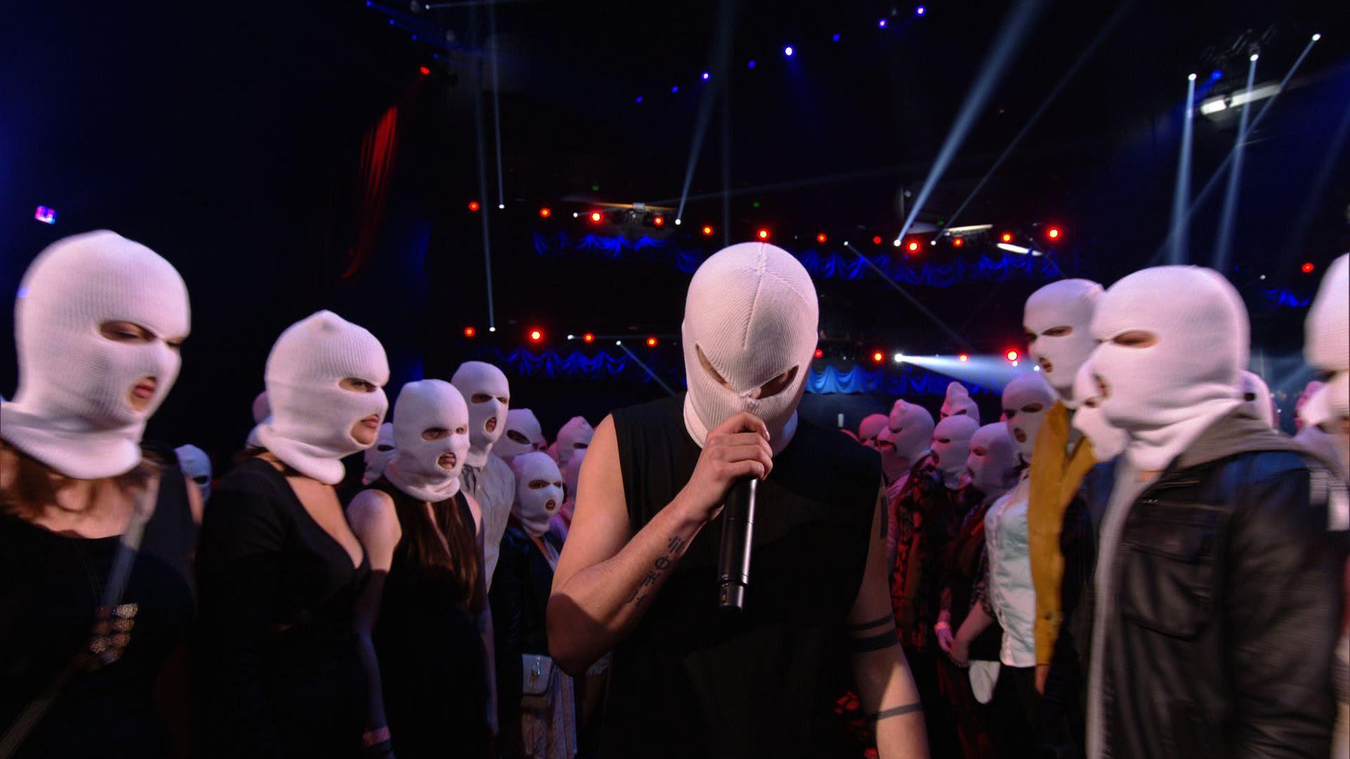 Twenty One Pilots Ski Masks Video Clip Movie Awards 2014