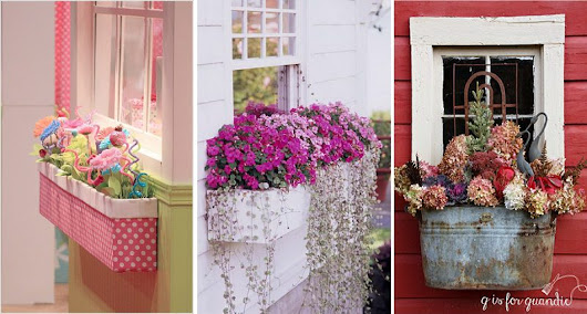 20 Creative Window Box Ideas - iCreatived