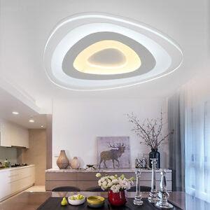 "Modern Acrylic LED Lamp Ceiling Mounted Lighting Teen""s ..."