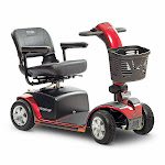 Pride Mobility Victory 10 4-Wheel Electric Scooter with 40AH Battery