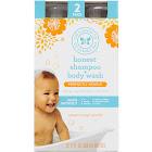 The Honest Co. Shampoo & Body Wash, 2 Pack, 17oz Each, 34oz 34 oz. - Sweet Orange Vanilla
