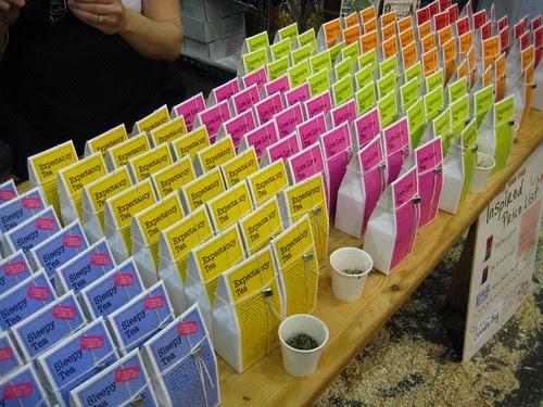 Range of tea