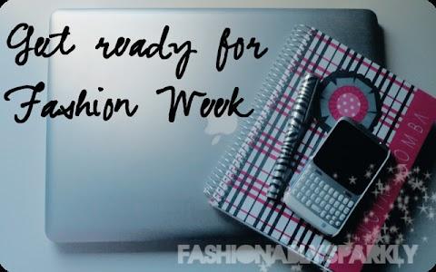 Get ready for fashion week!