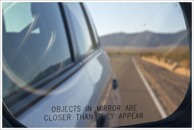 Mojave Desert 3 (Objects In Mirror)