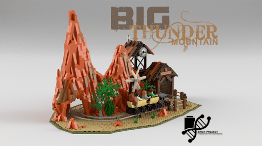 A Big Thunder Mountain LEGO Set? You Could Help Make it Happen!