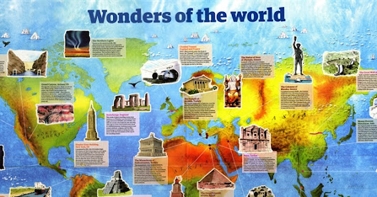 100 Wonders of the World - How many have you visited?