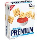 Nabisco Premium Saltine Crackers, Original, 4 oz, 12-Count