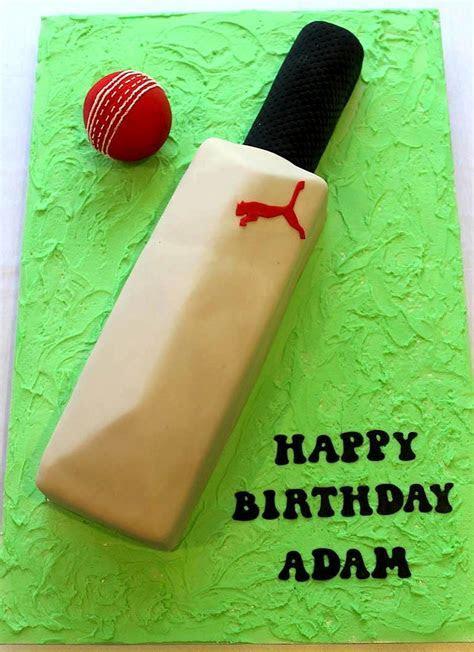 Cricket Bat & Ball   Cake Bliss