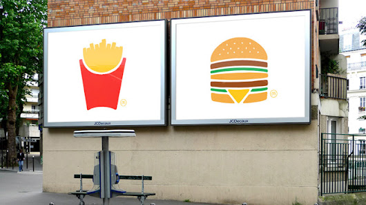 McDonald's Unveils the Simplest Ads It's Ever Made