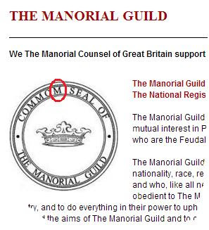 The Commom Seal of the Manorial Guild.