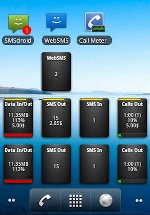 Call Meter 3G auxilia a gerenciar o tempo gasto em ligações telefônicas. (Foto: Reprodução)