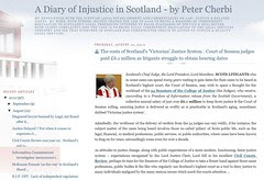 Diary of Injustice covers Judges expenses claims