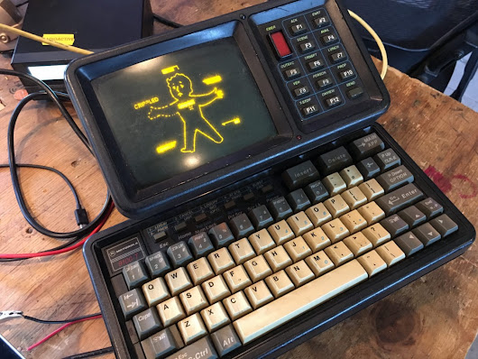 Modernizing a Vintage Police Cruiser Data Terminal with a BeagleBone