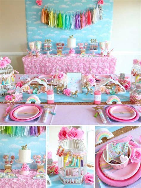 unicorn candy table   The most Cute Unicorn stuff
