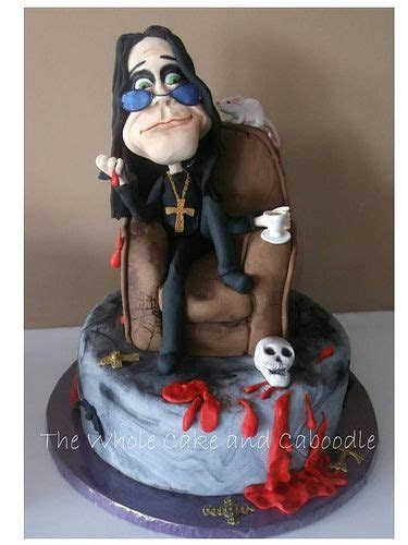 Ozzy Osbourne Cake   CREMATORY KREATIONS   Pinterest