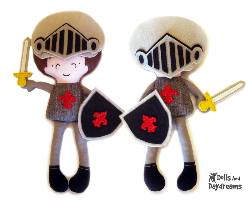 pocket Prince boy sewing pattern charming knight 1