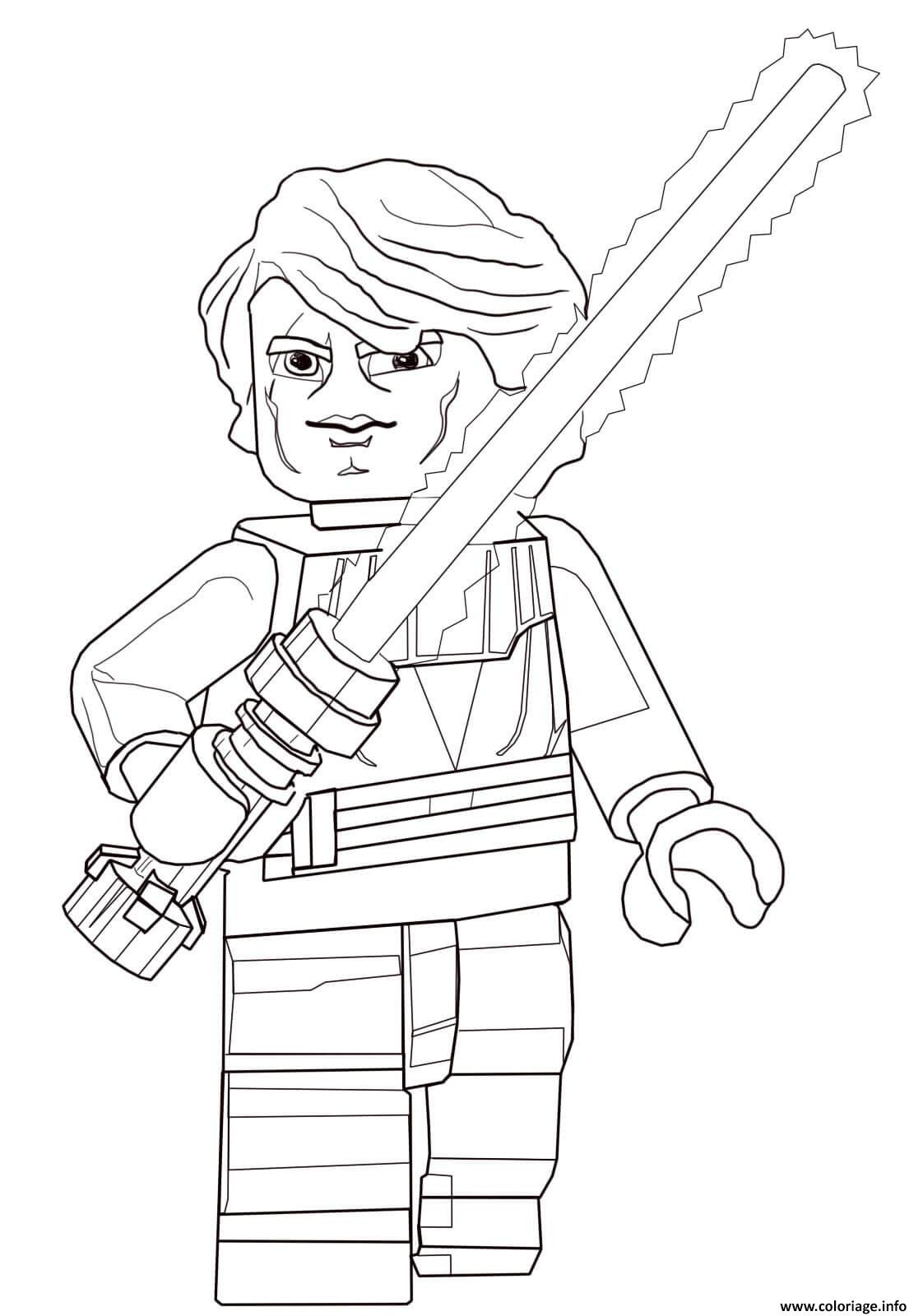 Coloriage Lego Star Wars 77 Dessin  Imprimer