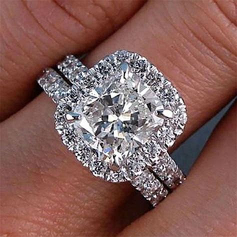 Details about GIA Certified Cushion Cut Diamond 18k White