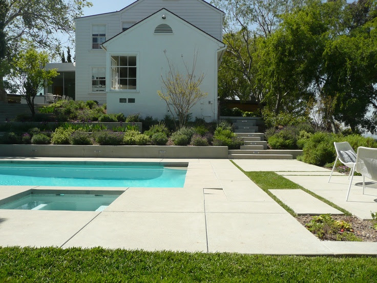 Concrete Pool Deck Ideas
