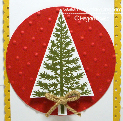 Stampin' Up!'s Wondrous Wreath & Festival Of Trees - Paper Crafts Idea