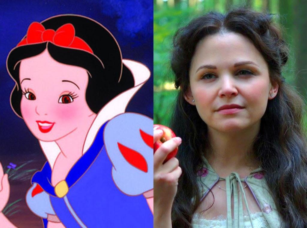 Snow White, Animated Disney vs. Live Action Disney